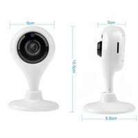 Mini Smart Wireless IP Wifi Camera 720P HD P2P Onvif Detecção de movimento de rede Segurança doméstica CCTV IP Cam V380 X1