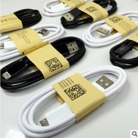 Wholesale S4 Note Ii - NEW 2017 Micro USB Data Cable charger adapter cable for Samsung Galaxy S4 S3 III Note 2 II I9500 I9300