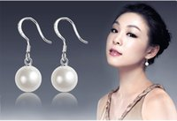 Wholesale Cheap Real Jewelry For Women - 2016 earrings for women faux pearl earings stud fashion jewelry earrings cheap real images bridal accessories