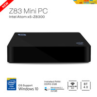 Wholesale Intel Box - Wholesale-DMY Mini PC Z83 Intel box Windows 10 OS pc Atom X5-Z8300 2GB 32GB Quad-core Media Player support WiFi BT4.0 1000 Mbps Ethernet