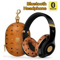 Wholesale Sport Wireless Headphones Usb - Bluetooth Headphones studio 2.0 Wireless Headphone With Retail Box Super DJ Stereo Sport Eearphone High quality with seal retail box