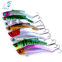 Wholesale rattle fishing lure - Anzhenji Brand 9Cm 28G Hard Fishing Lure Vib Rattlin Hook Fishing Sinking Vibra Rattling Hooktion Lures Pencil Baits Minnow Fish Lure Jigs