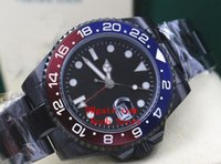 Wholesale Color Suppliers - Noob Supplier Original Box Papers Sapphire Wristwatches PVD 116710LN 116710 Asia 2813 Machanical Automatic Men watch watches