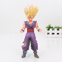 20cm Dragon Ball Z Son Gohan Figure Super Saiyan Son Gohan Toy Dragon Ball Special Color Ver. Toy Doll Figuras DBZ