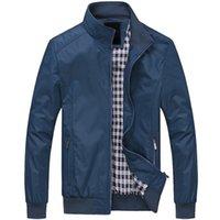 ingrosso i ragazzi cadono i vestiti-Uomini giacca autunnale soprabito bomber casual giacche da uomo giacca a vento all'aperto jaqueta masculina veste homme marchio di abbigliamento più 6xl