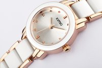 Wholesale Eyki Kimio Watches - 2016 New Eyki Kimio 2016 Ladies Imitation Ceramic Watch Luxury Gold Bracelet Watches with Fine Alloy Strap Women Dress Watch