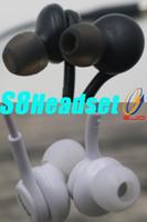 ingrosso controllo del volume delle cuffie senza vivavoce-Per cuffie auricolari in-ear con auricolare vivavoce Samsung con controllo volume remoto e microfono per auricolare Samsung Galaxy S8 da 3,5 mm