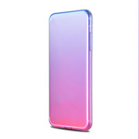 Per iPhone X Electroplate Custodie per Cellulare Custodie TPU colorate lucide colorate per iPhone 6 6s 7 8 Plus