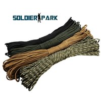 Wholesale Order Parachute Cord - 4 Colors 31M Survival Sling 550 Paracord Parachute Cord Lanyard Rope 100 Feet Hunting Climbing Camping Survival Rope Equipment order<$18no t
