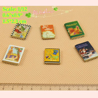 Wholesale Books House - 1 12 Scale Dollhouse Miniatures Books for Kids Room Dummy Books; Doll House Deco Dollhouse accessory Doll Houses Children's Room Decoration