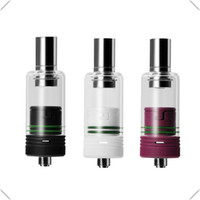 Wholesale Dry Herb Sets - Min.1 set 4-in-1 Ceramic Atomizers Vape as Wax Vaporizer Dry Herb Vaporizer To Fit 19-30w Mod Battery Free Epacket