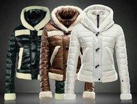 frauen parkas 2xl schwarz großhandel-2018 Winter Ente Daunenjacke Frauen Weiß Parka Womens Fleece Jacken und Mäntel khaki Schwarz