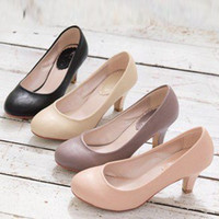 Wholesale Small Yards 31 Size - 2016 All-match Round Toe with The Single Shoes Plus Size Shoes 40 - 43 Women's Small Yards Shoes 31 - 33