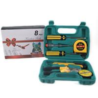 Wholesale Pvc Industries - MOQ 2PCS whole sale W8pcs industry house tools case Manual hardware tools kit