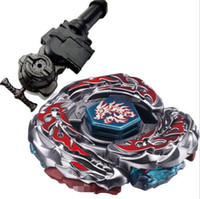 Wholesale Grip 1pcs - 1PCS 4D Beyblade Metal Fight L-Drago Destroy (Destructor) Metal Fury BB108 + L-R Starter Launcher + Hand Grip + Light Launcher