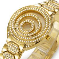 Wholesale Steel Logos Luxury - Luxury Watches Golduhren Frau Mode Luxus Gute Qualität Beiläufigen Frauen Quarz-Armbanduhr Clock weiblich Kostenlo Marken-Uhr-Logo für belbi