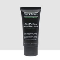 Barato Máscara Diária-SHILLS 50ml Deep Cleansing Black Mud Mask Daily Pore Cleaner Purifying Peel-off Mask Blackhead Acne Removedor Facial Mask