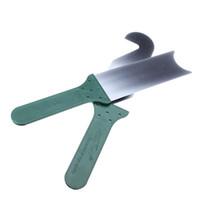 qualidade de seleção de bloqueio venda por atacado-Barato de alta qualidade KLOM 2 pcs Super Door Slit serralheiro ferramenta lock pick set frete grátis