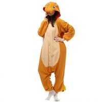 Wholesale Unisex Pikachu Onesie - Anime Orange Fire Dragon Charmander Adult Onesie One Piece Pocket Monsters Pikachu Cosplay Pajamas pijama carnival costumes Plus Size XL