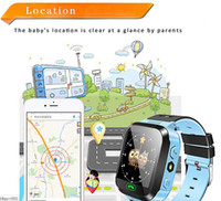 Écran tactile Q528 GPS Tracker WatchAnti-lost Enfants Enfants Smart Watch LBS Tracker Wrist Watchs SOS Call For Android IOS DHL