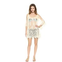 Wholesale Crochet Beachwear - Women Summer Swimsuit Beachwear Bikini Beach Cover ups Vestidos Swimwears Floral Sexy Lace Crochet Mini Tunic Dress Wholesale 2506026