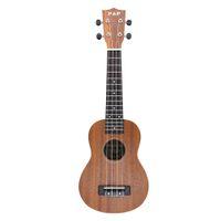 "Wholesale Red Guitar Left - High Quality 21"" Mini Ukelele Ukulele 4 Strings Hawaiian guitar Sapele Rosewood Fretboard Exquisite and Compact Smooth Polished"