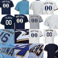 Wholesale Hank Aaron Throwback Jersey - Milwaukee Throwback Jersey Bud Selig Paul Molitor Cecil Cooper Robin Yount Hank Aaron Bob Uecker Prince Fielder Rollie Fingers