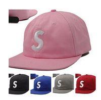 Wholesale Baseball Cap S - new Snapback Caps letter S bone 5 Panel cap Hats for men women popular bone aba reta casquette hip hop swag Baseball Cap gorras 5 Panel Hat