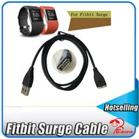 Wholesale Surge Wholesale - 1M USB Replacement Charging Charger Cable for Fitbit Surge Super Watch Smart Watch Smart accessories dhl