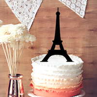 Table Centerpieces special occasion cakes - Cake Toppers Wedding Decorations A Simple Eiffel Silhouette Tower Cake Topper Paris Special Occasion Cake Topper