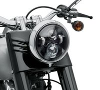 7 '' Round harley led faro Hi / Lo beam 40W proiettore moto Daymaker HID LED Light Bulb per Harley Davidson led headlamp