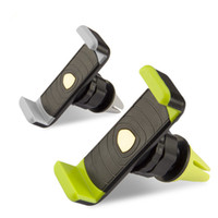 Wholesale Car Mount Rotating Clip - 360 Degree Universal Mini Car Air Vent Clip Mount Holder Rotating for Cellphone phone iPhone 6 6s plus S7 edge Note 7 OTH252