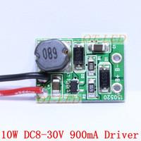 Wholesale 3x3w Led Chip - Wholesale-10pcs 12V 24V 10W LED Driver for 3x3W 9-12V 900mA high Power 10w led chip transformer for spot light flood light, freeshipping