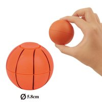 Wholesale Wholesale Toy Basketballs - Newest ABS Hand football basketball spinner finger football leisure decompression toys with retail box free shipping