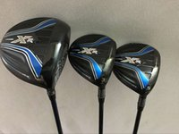 Wholesale regular flex graphite driver shafts - Golf clubs XR driver 10.5 loft + XR 3# 5# Fairway Woods Regular flex Graphite shaft 3PCS Golf Woods Right hand