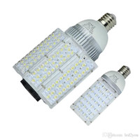 DC 12V / 24V E27 E40 Lampe Led Street ampoule lampe 30W 40W 60W 80W 100W imperméable Led Lights AC 85-265V
