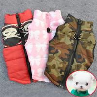 Wholesale Dog Clothes Pet Harness - Winter Warm Pet Dog Clothes Vest Harness Puppy Coat Jacket Apparel 6 Color Large New