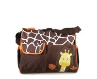 Wholesale Outdoor Mummy Animal Diaper Bag Mummy Bag Nappy Bag Zebr Giraffe Multifunctional Fashion Bag Mother Baby Bag