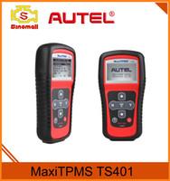 Wholesale Maxitpms Autel - 100% Original Authentic Autel MaxiTPMS TS401 TS 401 Code Reader TPMS DIAGNOSTIC ts401 Tpms Reset Tool