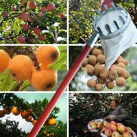 garden tools pick - Metal Fruit picker Newest Convenient Horticultural Fruit Picker Gardening Apple Peach Picking Tools DHL Shipping