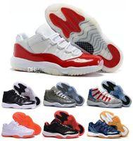 Wholesale Sneaker China - 2016 hot sale china Retro shoes 11 Basketball Sneakers Men Wihte Retro XI Man Bred Georgetown Citrus GS