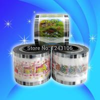 Wholesale Logo Printing Machine - Manual cup sealing machine film PP PE EVA film,cup sealing fim, customized film,can print LOGO,bottle sealing film,Min order 6 rolls box