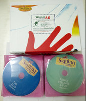 Wholesale Baby Signing Time Full Collection - Baby Signing Time Full Collection 32disk &12 Music CD DHL free
