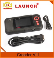 Wholesale Obd Code Reader Bluetooth - Launch creader VIII CRP129 code reader OBDII EOBDII CRP 129 for Engine transmission anti-lock braking system airbag obd ii scanner