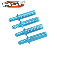 Wholesale Redcat Truck - 4pcs lot HSP 188037 08047 Aluminum Body Mounts For 1 10 RC Off Road Mo Truck Himoto Redcat