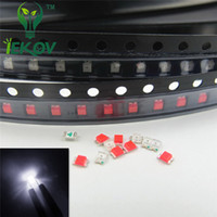 5000pcs / bag 0805 SMD bianco LED luminoso eccellente diodo Water Clear fai da te 3.0-3.2V di alta qualità SMD / SMT Chip lampada perline
