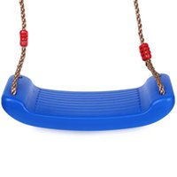 Wholesale Hanging Seat Swing - Children Indoor Outdoor Hanging Playground Garden Belt Swing Seat Toys Patio Swings Belt Seat Toys ree Swing Rope Seat Molded