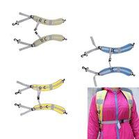 Wholesale Double Shoulder Belt Strap - Hot Sale Adjustable Backpack Strap Breathable Shoulder Belt Backpack Belt Strap Double Hooks Backpack Accessory