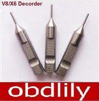 Wholesale X6 Key Cut - 3pcs lot 1.0mm HSS Tracer Point For Key Cutting Machines V8 X6 Decorder Car Key Duplicating Machines 1.0mm Probe