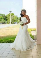 Wholesale Sexy Design Wedding Gown - New Design 2016 Wedding Dresses Plus Size Vintage Sweetheart Neck Beads Tulle lace Wedding Dresses Sexy Custom Bridal Gowns